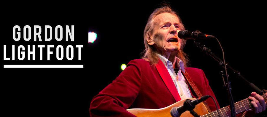 Gordon Lightfoot at City National Civic