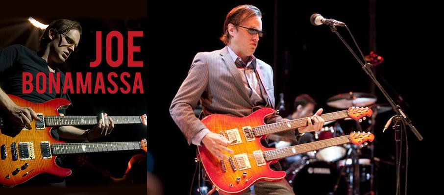 Joe Bonamassa at San Jose Center for Performing Arts
