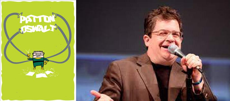 Patton Oswalt at City National Civic