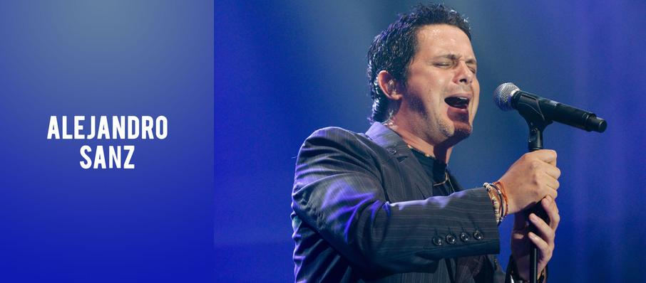 Alejandro Sanz at SAP Center