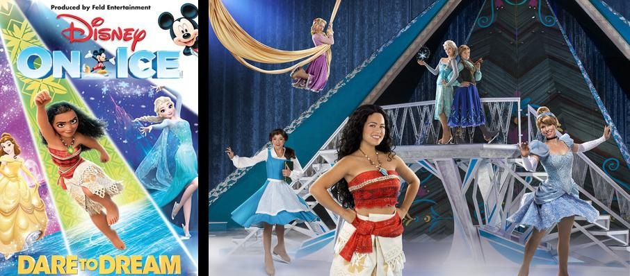 Disney On Ice: Dare To Dream at SAP Center
