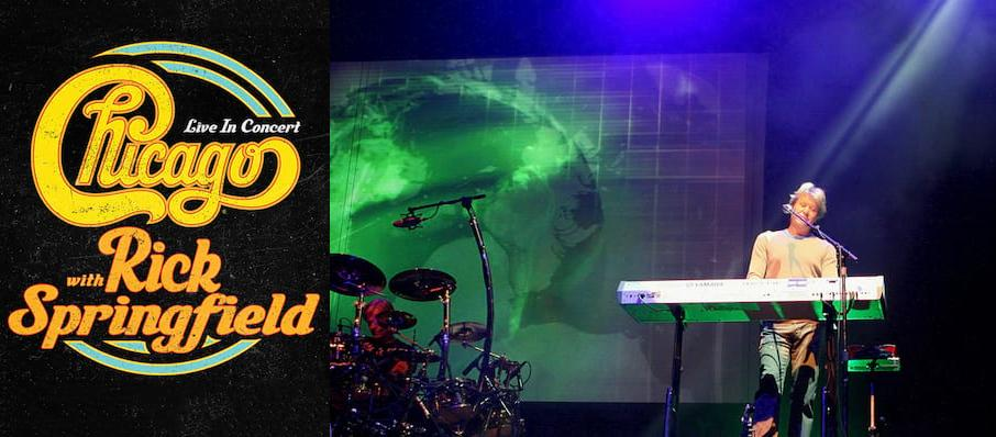 Chicago - The Band at City National Civic