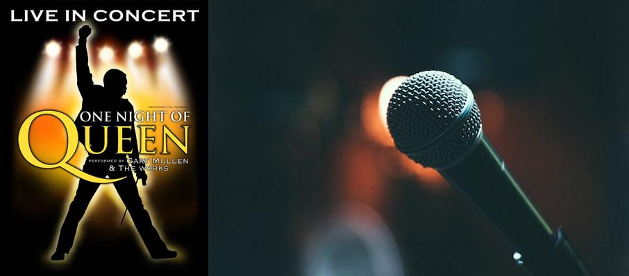 One Night of Queen at Mountain Winery