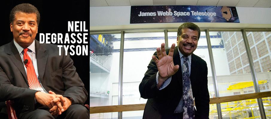 Neil DeGrasse Tyson at San Jose Center for Performing Arts