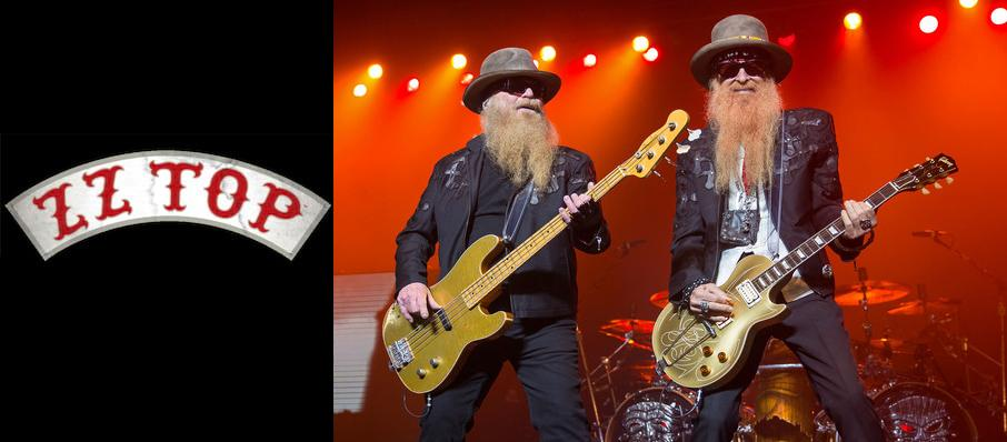 ZZ Top at City National Civic