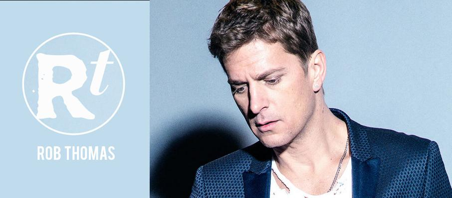Rob Thomas at Mountain Winery