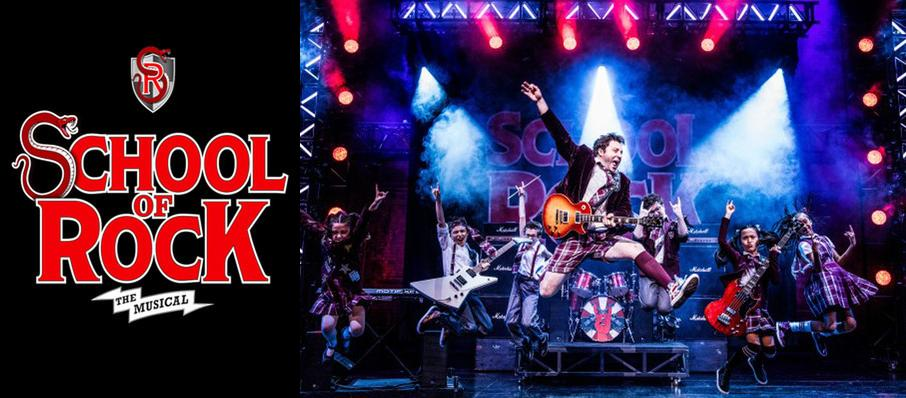 School of Rock at San Jose Center for Performing Arts