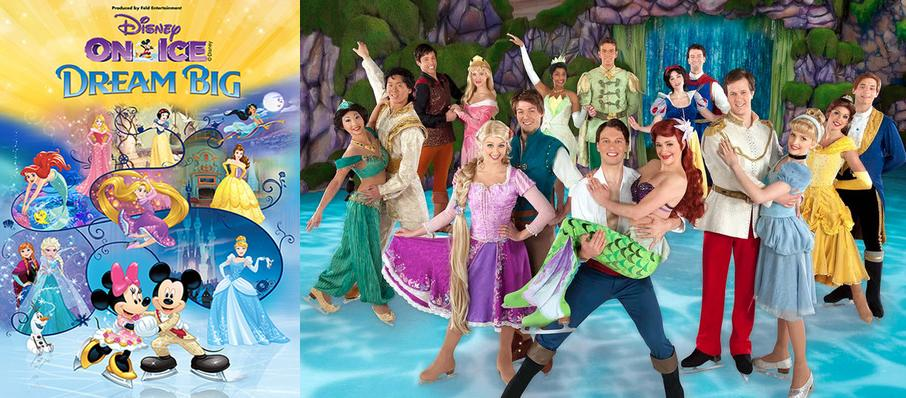 Disney On Ice: Dream Big at SAP Center