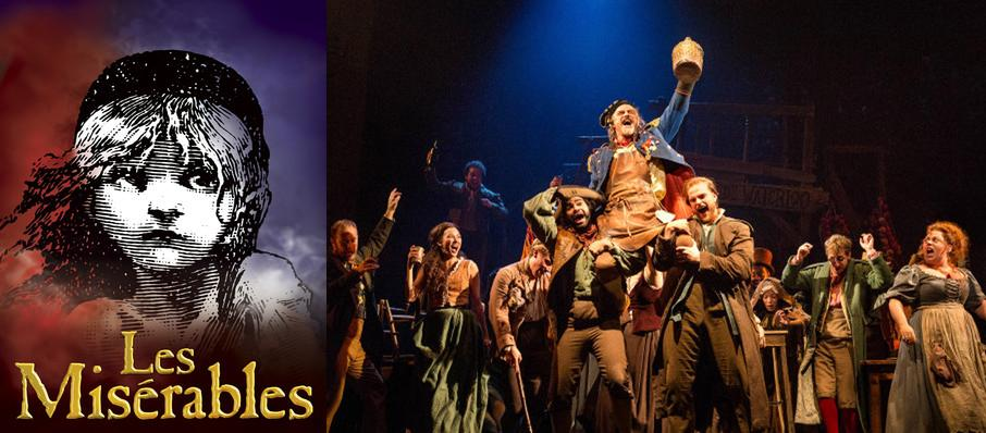 Les Miserables at San Jose Center for Performing Arts