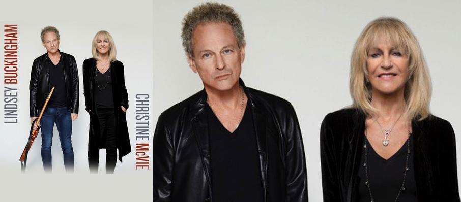Lindsey Buckingham and Christine McVie at San Jose Civic Auditorium