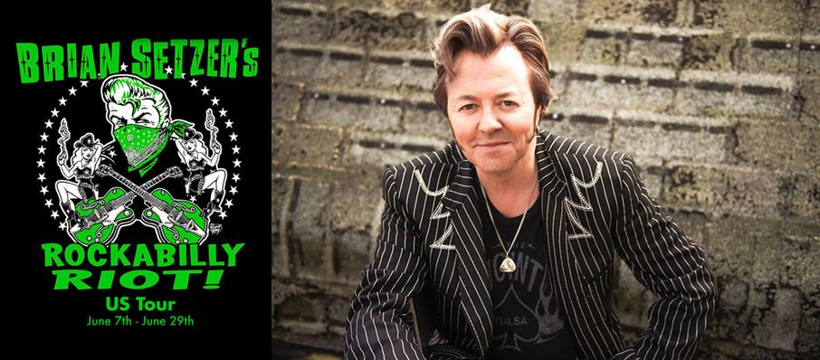 Brian Setzer Orchestra - Rockabilly Riot at Mountain Winery