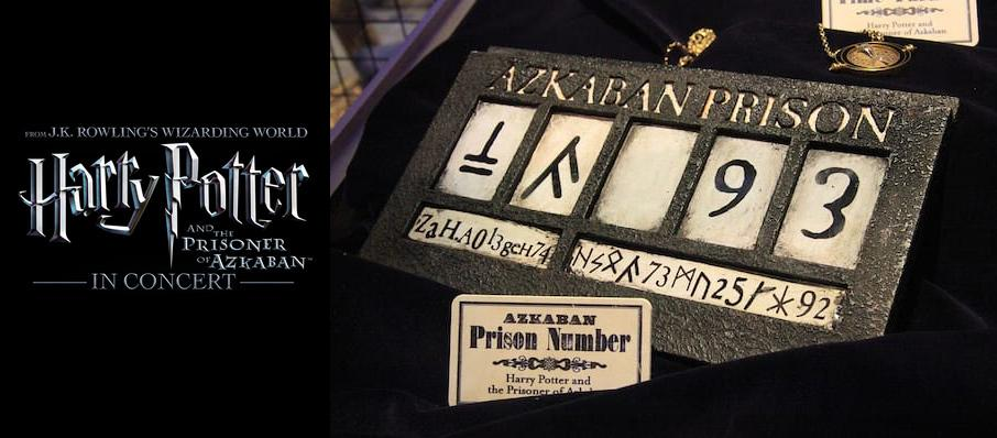 Harry Potter and the Prisoner of Azkaban in Concert at San Jose Center for Performing Arts