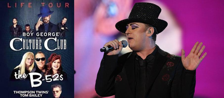 Boy George and Culture Club at Mountain Winery