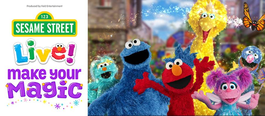 Sesame Street Live - Make Your Magic at City National Civic