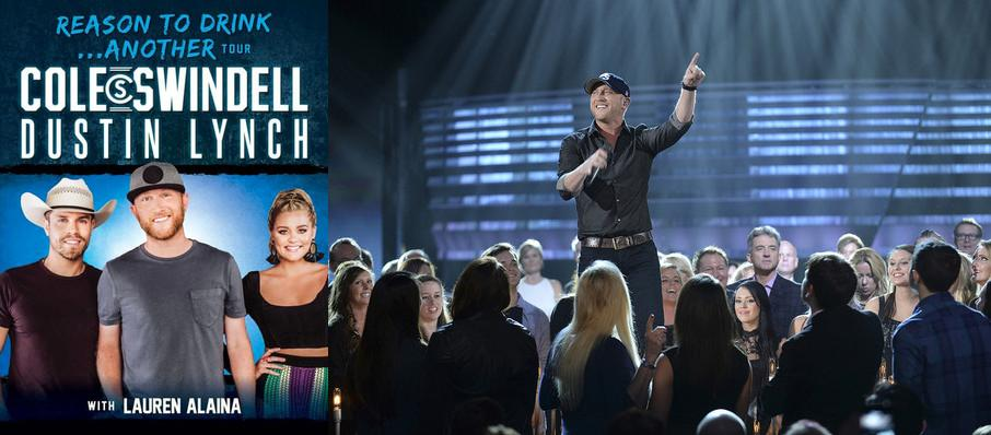 Cole Swindell and Dustin Lynch at San Jose State University Event Center