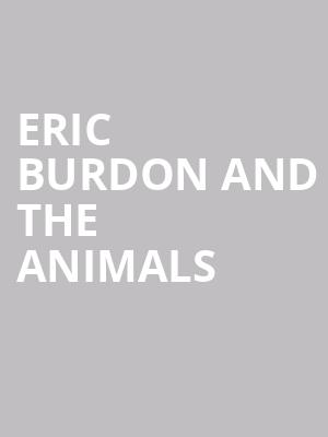 Eric Burdon and The Animals at Mountain Winery