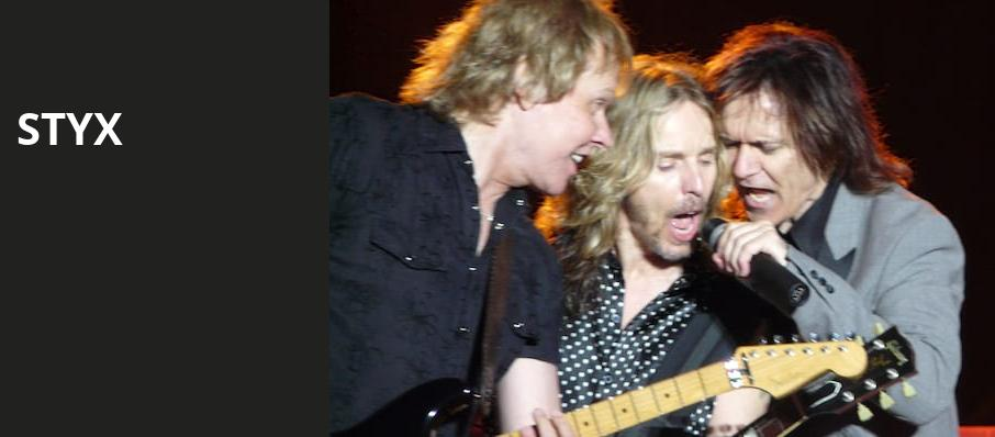 Styx, San Jose Civic Auditorium, San Jose