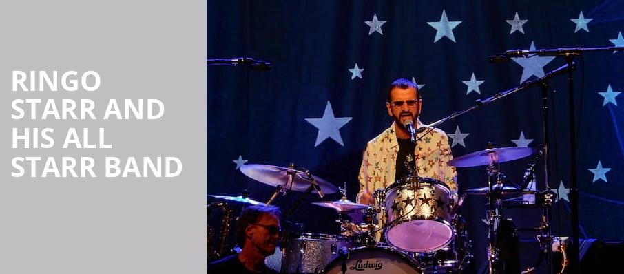 Ringo Starr And His All Starr Band, San Jose Civic Auditorium, San Jose