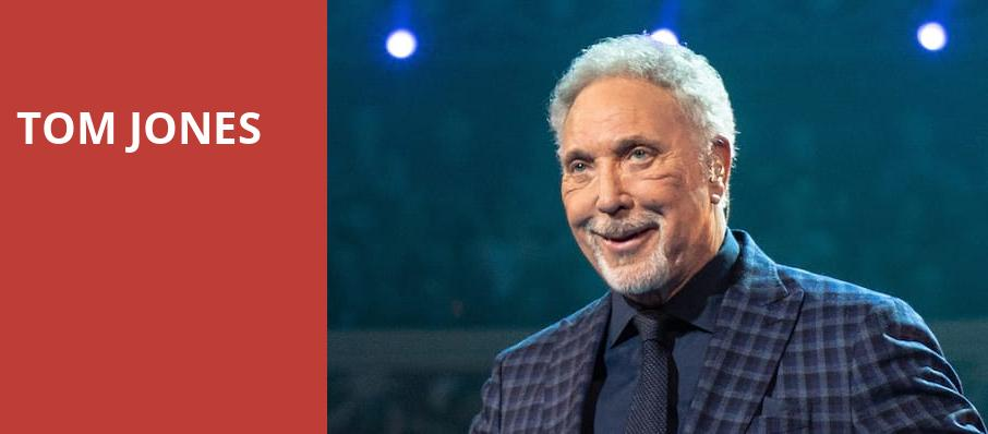 Tom Jones, San Jose Center for Performing Arts, San Jose
